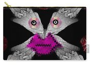 Meteoroid Creature  Coming From Comets And Androids Pop Art Carry-all Pouch by Pepita Selles