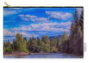 Methow River Crossing Carry-all Pouch