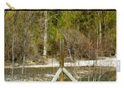 Methow River Springtime Carry-all Pouch