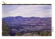 Methow River Valley Via Sun Mtn Lodge Carry-all Pouch by Omaste Witkowski