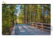 Methow Valley Community Trail At Wolf Creek Bridge Carry-all Pouch by Omaste Witkowski
