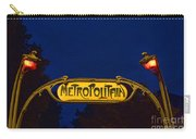 Metropolitain #1 Carry-all Pouch