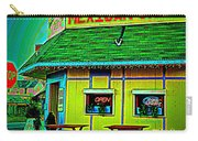 Mexican Grill Carry-all Pouch by Chris Berry