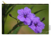 Mexican Petunia Carry-all Pouch