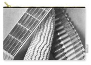 Mexican Revolution, Guitar, Corn Carry-all Pouch