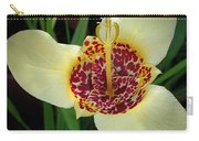 Mexican Shell Flower Carry-all Pouch