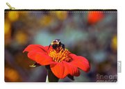 Mexican Sunflower Open House Party Time Carry-all Pouch