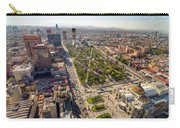 Mexico City Aerial View Carry-all Pouch by Jess Kraft