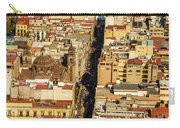 Mexico City Cathedral And Zocalo Carry-all Pouch by Jess Kraft