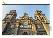 Mexico City Cathedral Facade Carry-all Pouch