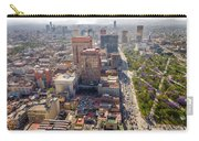 Mexico City Cityscape Carry-all Pouch by Jess Kraft