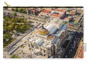 Mexico City Fine Arts Museum Carry-all Pouch by Jess Kraft