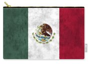 Mexico Flag Carry-all Pouch