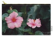 Mexico Pink Beauties By Tom Ray Carry-all Pouch
