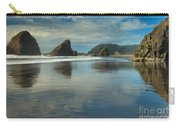 Meyers Creek Sea Stack Blues Carry-all Pouch by Adam Jewell