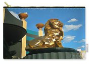 Mgm Lion In Las Vegas Carry-all Pouch