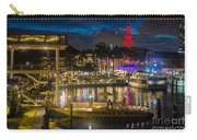 Miami Bayside And Freedom Tower Carry-all Pouch