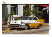 Miami Beach Classic Car Carry-all Pouch