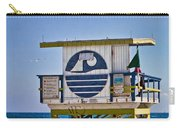 Miami Beach Lifeguard Station Carry-all Pouch