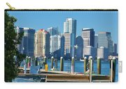 Miami On The Docks Carry-all Pouch