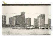Miami - Venetian Causeway Carry-all Pouch