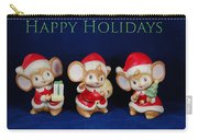Mice Holiday Carry-all Pouch