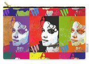 Michael Jackson Andy Warhol Style Carry-all Pouch
