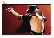 Michael Jackson Artwork 4 Carry-all Pouch by Sheraz A
