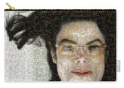 Michael Jackson - Fly Away Hair Mosaic Carry-all Pouch