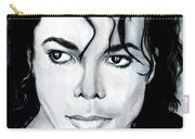 Michael Jackson Portrait Carry-all Pouch