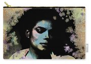 Michael Jackson - Scatter Watercolor Carry-all Pouch