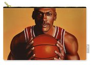 Michael Jordan 2 Carry-all Pouch by Paul Meijering