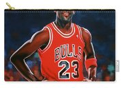 Michael Jordan Carry-all Pouch by Paul Meijering