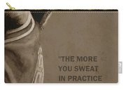 Michael Jordan - Practice Carry-all Pouch by Richard Tito