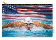 Michael Phelps Artwork Carry-all Pouch