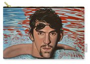 Michael Phelps Carry-all Pouch by Paul Meijering