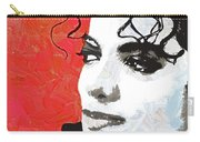 Michael Red And White Carry-all Pouch