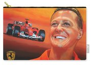 Michael Schumacher 2 Carry-all Pouch by Paul Meijering