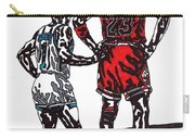 Micheal Jordan 1 Carry-all Pouch by Jeremiah Colley