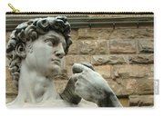Michelangelo's David 1 Carry-all Pouch