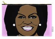 Michelle Obama Carry-all Pouch by Jost Houk