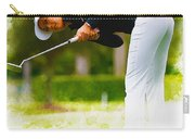 Michelle Wie  Putt On The Tenth Green Carry-all Pouch