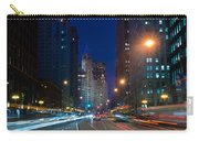Michigan Avenue Chicago Carry-all Pouch by Steve Gadomski