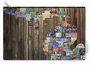 Michigan Counties State License Plate Map Carry-all Pouch by Design Turnpike