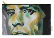 Mick Jagger Carry-all Pouch by Chrisann Ellis