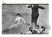 Mickey Mantle Steals Second Carry-all Pouch