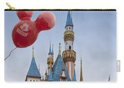 Mickey Mouse Balloon At Disneyland Carry-all Pouch