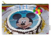Mickey Mouse Cake Carry-all Pouch