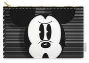 Mickey Mouse Disney Mug Shot Carry-all Pouch by Tony Rubino