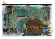 Mick's Drums Carry-all Pouch by Paulette B Wright